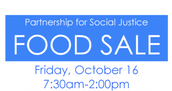Social Justice Brings Sweet Treats to Bake Sale Friday, Oct 16