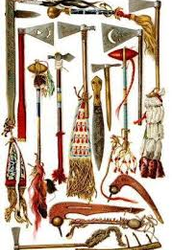 Weapons and Tools they used:
