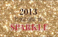 2013 is out year to sparkle
