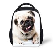 cute dog print bag