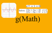 g(Math) For Equation Writing in Google Docs and Forms
