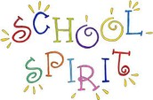 Friday, February 26th is School Spirt Day!