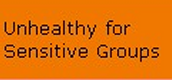 Unhealthy for Sensitive groups