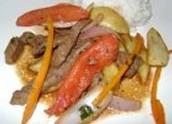 Lomo Saltado (Sautéed Beef Stew)
