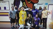 ECMS Faculty Dodgeball team