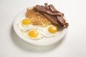 Huevos, Jamón and Tocienta (Eggs, Ham and Bacon) $5.99