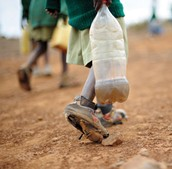 Africa has the lowest scoring in water, but it also has some of the worst poverty.
