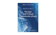 Level 1 design and visual communication study guide