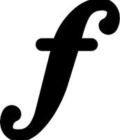 F( Forte); loud