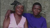 Kelvin Doe and His Mother