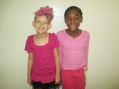Ellie and Breniyah