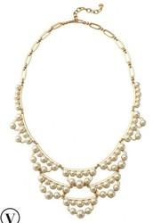 Frances Pearl Necklace $45