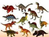 Lots Of Toy Dinosaurs Too!