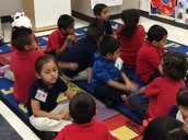 Providing opportunities to explain their thoughts in Kinder!