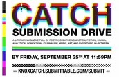 CATCH Submission Drive