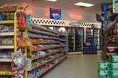 Convenience Stores are at most 10 minutes on foot