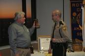 Rotory Club Honor Recipient