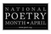 April has been designated as National Poetry Month.