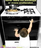 Keep heat appliances out of reach of children