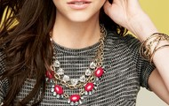 Mae Necklace Paired With Sommerville & Christina Link
