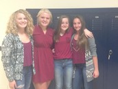 Twin Day?  No just good friends!
