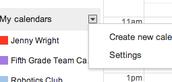 Create Another Calendar