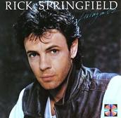 rick springfield's album cover