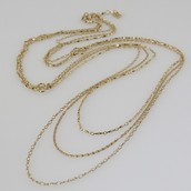 Libby Layering Necklace, Gold