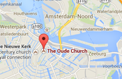 The Oude Kerk, Amsterdam