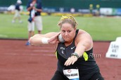 Modern Day Olympic Shot Putter