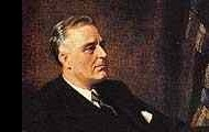 President Roosevelt created the Bank Holiday