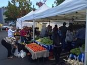 Farmers Market Field Trip