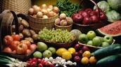 Los Vegetales y Las Frutas