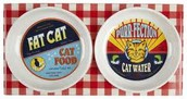 Vintage Cat Feeding Set...