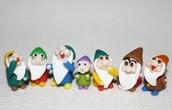 Seven Dwarfs Chibis