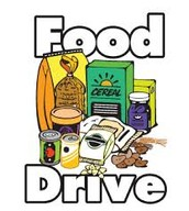 a food drive for the homeless shelters
