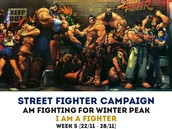 Street fighter Result announcement- every Friday