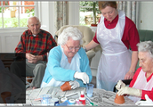 Arts & Crafts at a Nursing Home (Back Then)