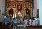 ceremonia de la virgen