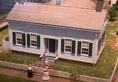 Lincolns original home