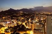 Rio At Nighttime