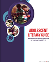 """Successful instruction for adolescents is intellectually demanding, connected to the students' lives and the world, and is socially supportive. It encourages risk-taking and celebrates and encourages difference."" Think Literacy Success, 2003"