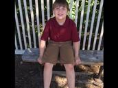 Meet the newest River Oak third grader!  Landen Clark