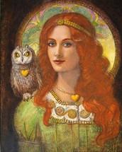 One more we worship the goddess athena
