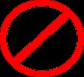 Not allowed