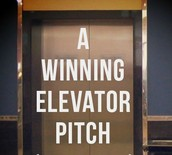 "Our Mission & ""Elevator Pitch"""