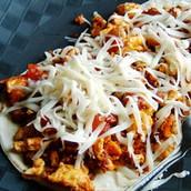 Mexicano desayuno taco (sescientos cinco pesos 205)