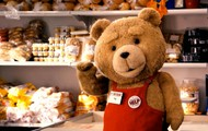 Ted working