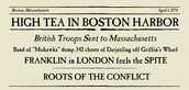 Result of the Boston Tea Party