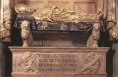 Funerary Monument by Donatello